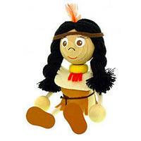 チェコのおすわり人形 インディアンガール ABAfactory