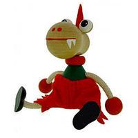 チェコおすわり人形 ドラゴンwithズボン ABAfactory