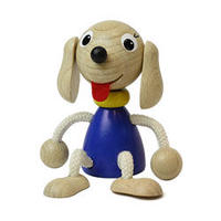 チェコおすわり人形 犬 ABAfactory