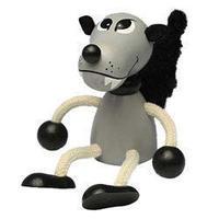 チェコおすわり人形 オオカミ ABAfactory