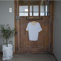 Bellerose linen無地Tシャツ/ 6A〜10A
