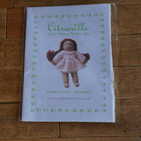 """Citronille  pour """"happy to see you""""/人形用パターン#210 """"Myrantine"""""""