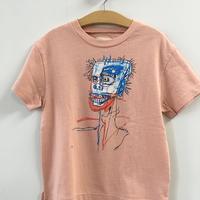 バスキアTシャツ-pink