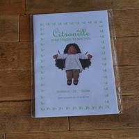 """Citronille pour """"happy to see you""""/人形用パターン#122 """"Gunila"""""""