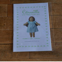 """Citronille  pour """"happy to see you""""/人形用パターン#169 """"Antonine"""""""