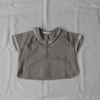 au clair de la lune-paris 半袖セーラーシャツ/80cm〜90cm