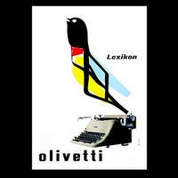 Olivetti ポスター(Marcello Nizzori)