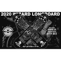 WIZARD ロングボード デッキ予約販売