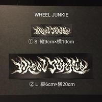 WHEEL JUNKIE ステッカー S