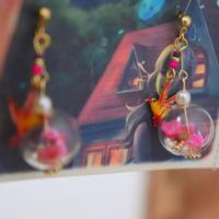不死鳥の水晶(赤)1点物