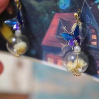 不死蝶の水晶(黄)1点物