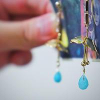 魔法の傘(青)1点物