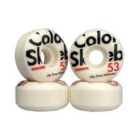 COLOR SKATEBOARD Slim 53mm 100A