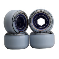 Feather Wheel V2LITE 101A 53mm  Clear Blue  Core