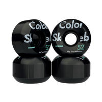 COLOR SKATEBOARD Conical 52mm 100A