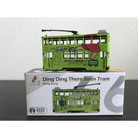 【香港☆TINY】 香港電車  城市66合金車仔「一叮即到」/  Ding Dong There Soon Tram