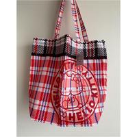 【香港☆HELLO KITTY】<復刻版>紅白藍環保袋  /  エコバッグ ・トートバッグ