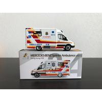 【香港☆TINY】城市34 合金車仔(平治Sprinter)☆消防處救護車 / Hong Kong FSD ・Ambulance(A512)