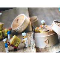 <躍雨文庫>【樂高迷你劇場/ 本】Legography×香港美食 p251