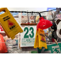 <SALE>【香港☆CAUTION】「第5弾」Sign Clip+Magnet(Bad Weather in HK) / 4種類入っています