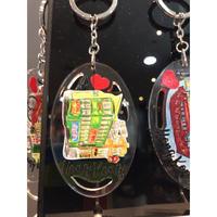 【香港☆鎖鑰扣】I ♡ 香港  KEYCHAIN  / 香港電車・叮叮・Tram