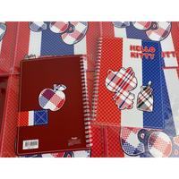 <限定>【香港☆HELLO KITTY】紅白藍・A5筆記簿  /  HK-SANRIO A5リングノート