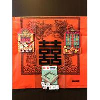 【香港☆HK  Magnet】香港特色磁石貼 / 3種類 凹凸がある木製 マグネット