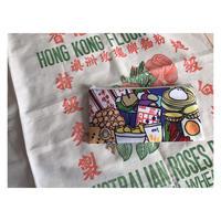 ☆Handmade☆【香港・HANDMADEship】(小) 賑やかな小食  /  ふわふわポーチ♡