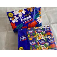【香港☆Tempo/mini】limited edition 使い捨てハンカチ(ティッシュ)24pcs / 1パック
