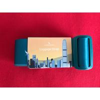 【香港☆ CATHAY PACIFIC 】(Renewal)國泰精品ー行李帯  / ロゴ&香港風景・Perfect for traveling