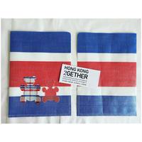 【香港☆紅白藍330】熊白藍・ 文件夾   /  A4ソフトタイプのファイルです
