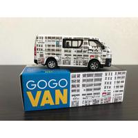 【香港☆TINY】城市  合金車仔Angryangry / 豐田  Hiace GoGoArt Van