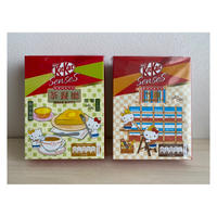 <Limited>【香港☆Hello Kitty  ×  Kit Kat】香港特色系列 詰め合わせセット   / 茶餐廰と竹棚の2種類