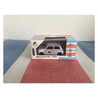 【香港☆TINY】城市12合金車仔   /  Mini Cooper Mk1 1990年紅白藍