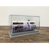 【香港☆80M 】「紫花油」廣告巴士模型680 /   ミニチュアバス 1:120 SCALE