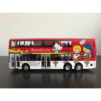 <Limited>【香港☆80M】「SANRIO HONG KONG」1/60 Hello  Kitty家族  紅色巴士