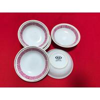 【香港☆中国制造】キッチュな模様の豆皿   /  2p=1set