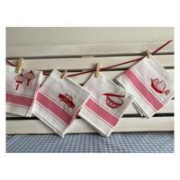 【香港☆Tea Towel】(小)100% Cotton 抹碗布・キッチンクロス /  ZEST OF ASIA 4種類