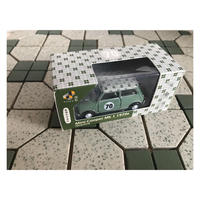 【香港☆TINY】城市12合金車仔   /  Mini Cooper Mk1 1970年緑格仔