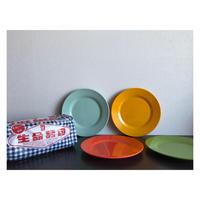 【香港☆メラミンお皿】<直径20cm>  元気がでるメラミンカラー / (4色)家居用品