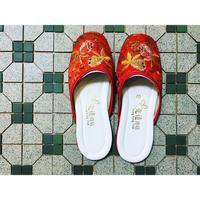 【香港☆slipper】Made in Hong Kong  /  「先達商店」の金魚刺繍のスリッパ