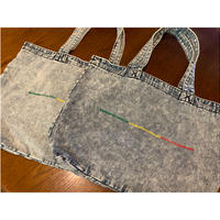 【SKREWZONE】CHAMICAL DENIM JAPANICAN TOTE BAG