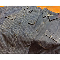 【SKREWZONE】DENIM LONG SHIRTS