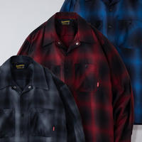 【BLUCO】OMBRE WORK SHIRTS L/S