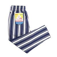 【COOKMAN】シェフパンツ Chef Pants Awning Stripe Navy