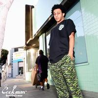 【COOKMAN】Chef Pants Ripstop Camo Green (Tiger)
