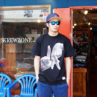 "【SKREWZONE】TRADE MARK""LA"" TEE"