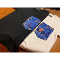 SKREWZONE】VINTAGE CUSTOM CHINA DRESS BIG POCKET KIDS TEE
