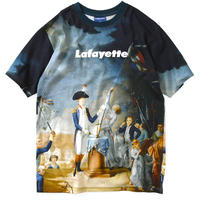 【LAFAYETTE】FRENCH REVOLUTION ALLOVER LOGO TEE