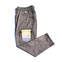 【COOKMAN】Chef Pants Cargo Gray